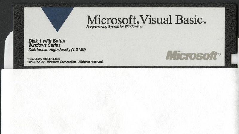 Microsoft Visual Basic 1991. CHM #102619095