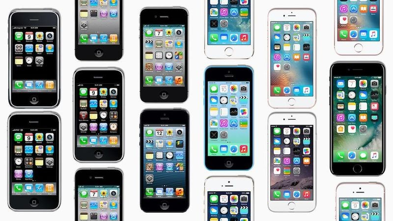 The iPhone was announced on January 9, 2007 , in one of Steve Jobs' many dazzling demos. It shipped on June 29. Apple sold a million of them in three months, and over a billion to date.