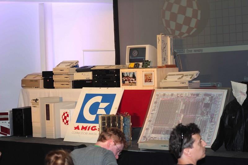 Amiga technologies – old and new – came together at Amiga 30 USA.
