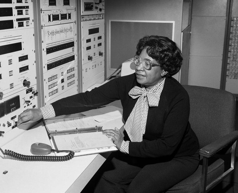 Mary Jackson at work NASA Langley. Image: NASA.